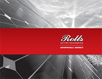 Rolls Battery Renewable Energy Brochure